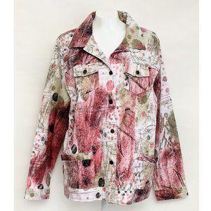 Keren Hart Women's Multicolor Jacket